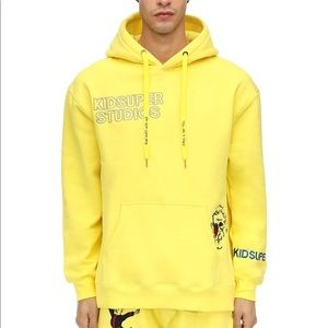 Other - Kidsuper yellow hoodie